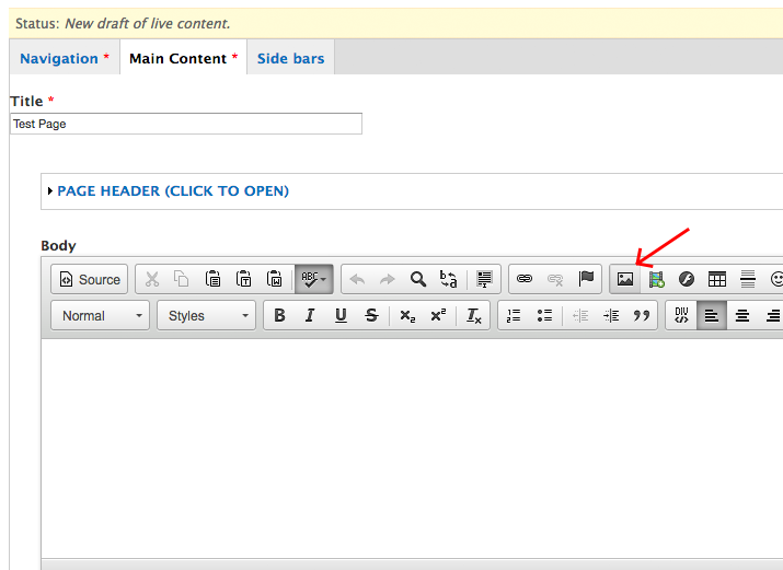 How to Upload Images   YSU
