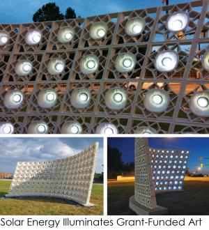 Solar Art projects