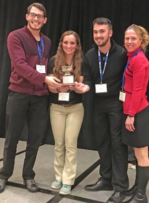 Exercise Science Students Victorious In Midwest Quiz Bowl