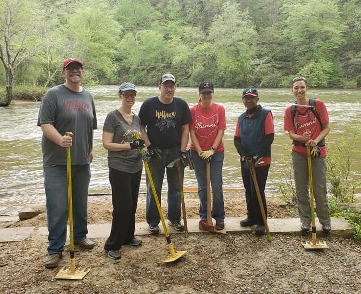 Atlanta Alumni Chapter Volunteer Week Photo