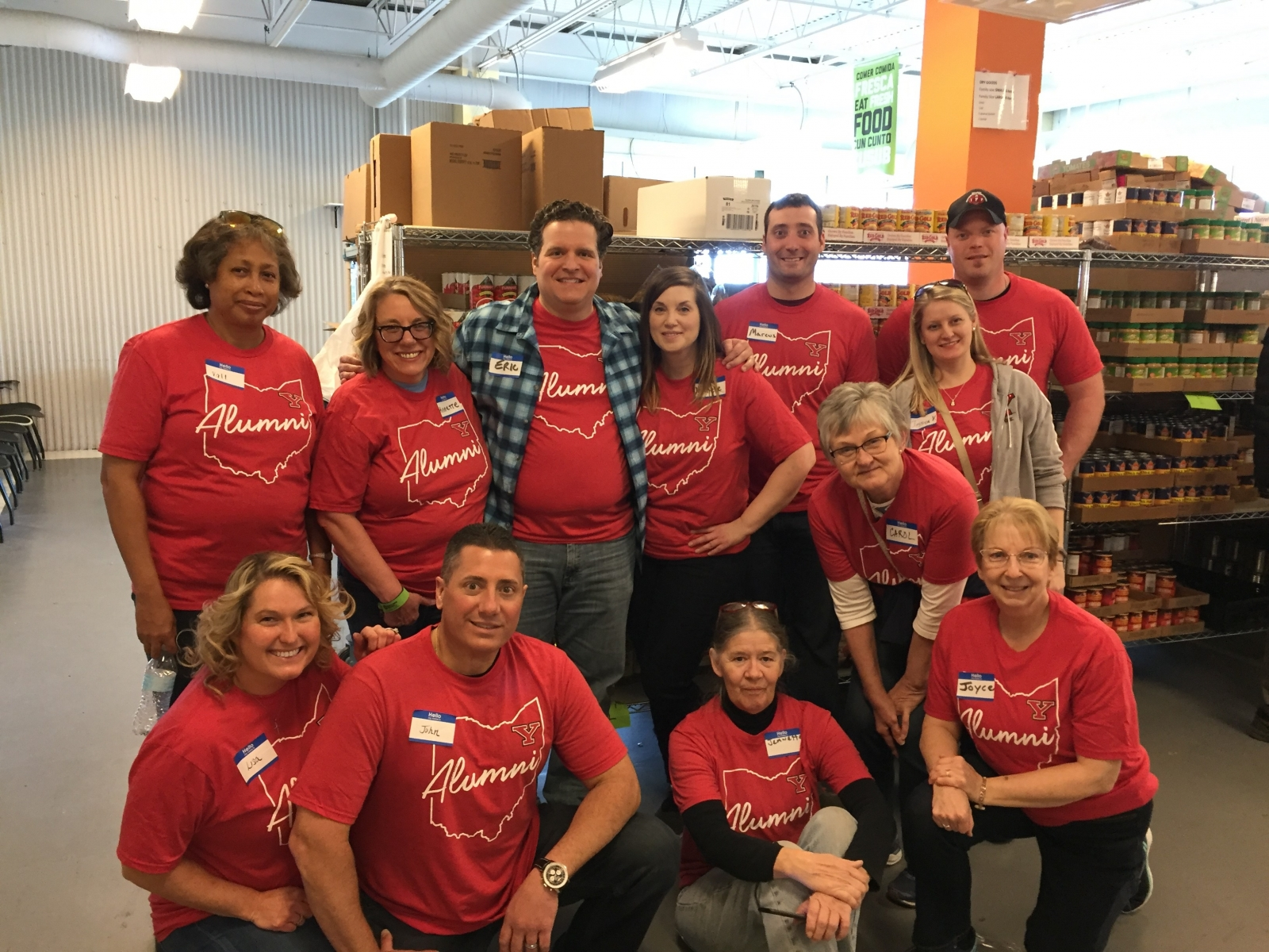 YSU Columbus Alumni Chapter Volunteer Week