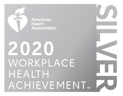AHA Silver Workplace Health Achievement Logo