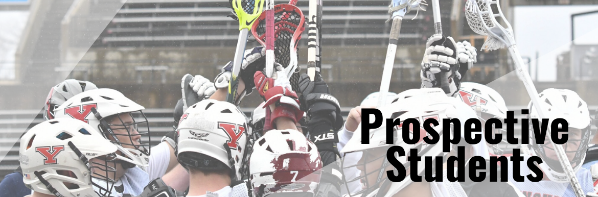 The YSU Men's Lacrosse Club huddling together before a game