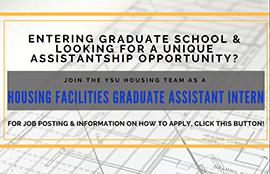 Housing Facilities Graduate Assistant Intern job opportunity