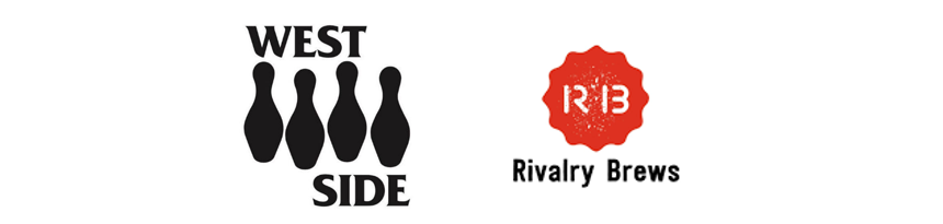 West side and rivalry brews logos