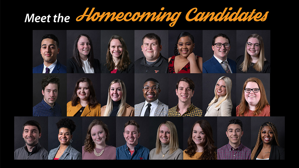 Meet the homecoming candidates collage