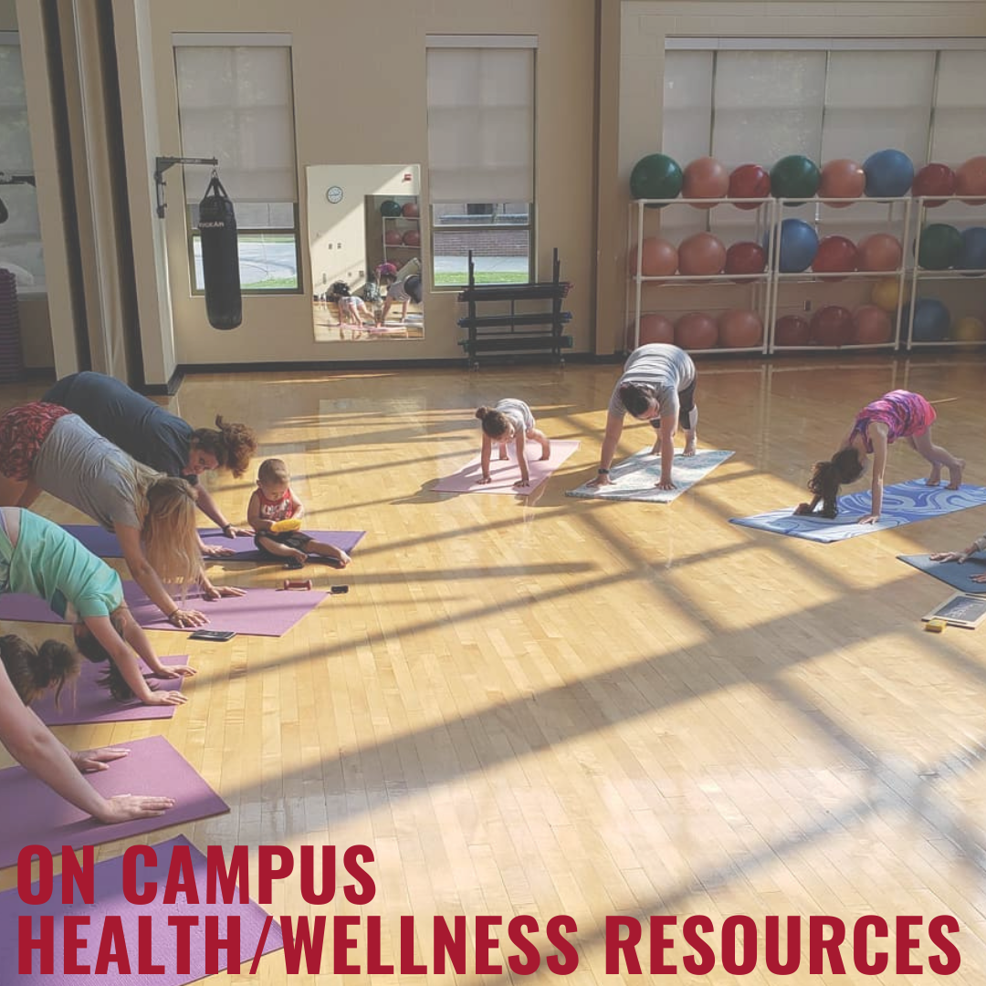 Parents and kids doing yoga