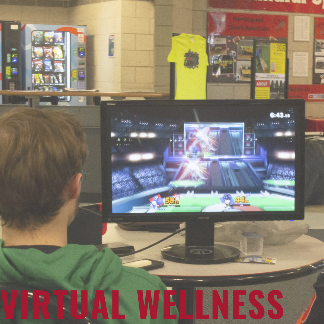 Student Playing Video Games