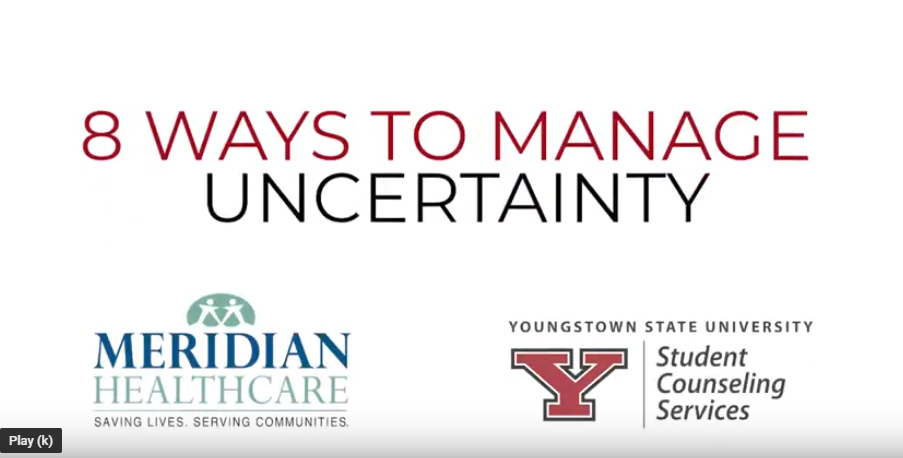 8 ways to manage uncertanty