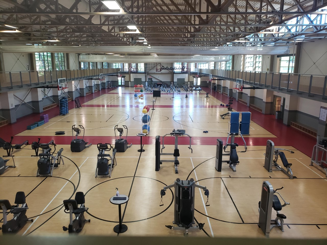 Andrews Student Recreation & Wellness Center Basketball Courts