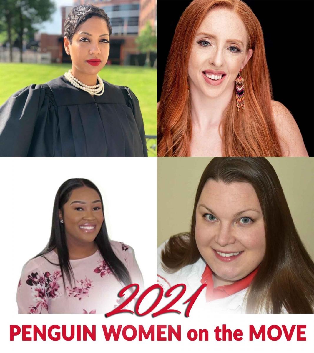 Penguin Women on the move